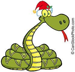 帽子, 蛇, 聖誕老人