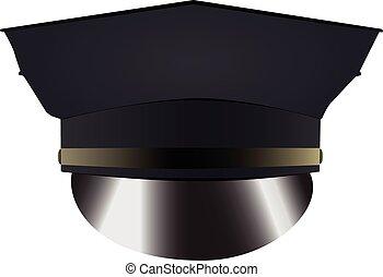 帽子, 警察制服