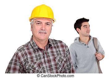 年長者, 勞動者, 年輕人