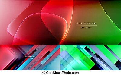 幾何學, 摘要, 矢量, 現代, 背景, 彙整