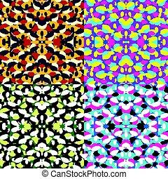 幾何學, 背景, 上色, 彙整, seamless