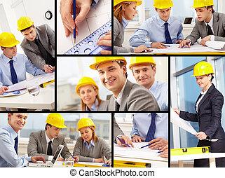 建筑師, 工作