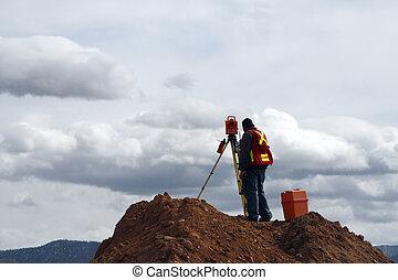 建築工地, 測量