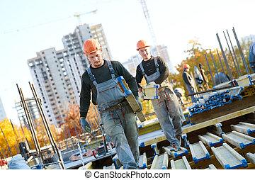 建築物, 區域, 工人, 安裝, 建設, wormwork