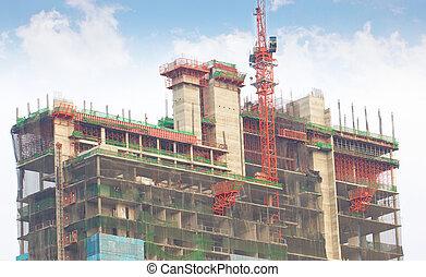 建築物, 新, construction.