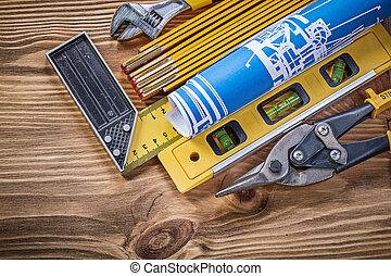 建築物, 木制, 葡萄酒, 變化, 板, 工具