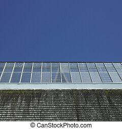 建築物, 玻璃, 屋頂