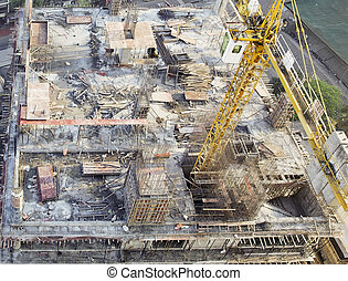 建築物, 組織, 建築工地