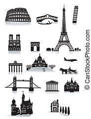 建築物, 觀光