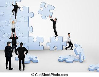 建築物, 難題, 商業組