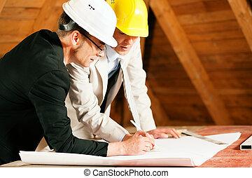 建設, 建築師, 工程師