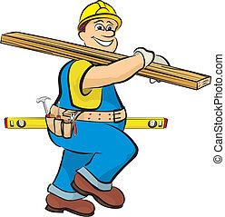 建設, 木匠