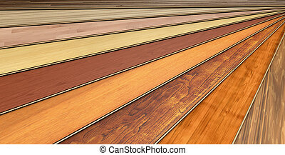 建設, 板條, 木制, 碾壓