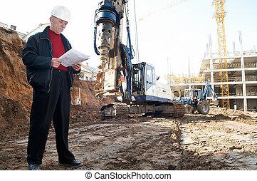 建設, 檔案, 站點, 工程師