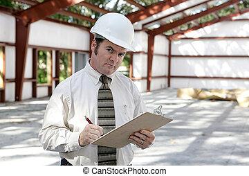 建設, 檢查員, 可疑, -