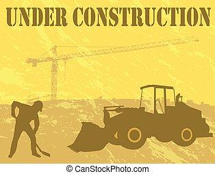 建設, 背景, 在下面