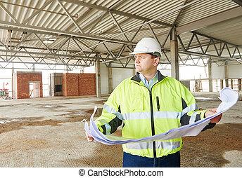 建設, 領班, 建造地點