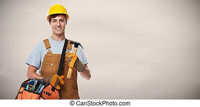 建設, worker.