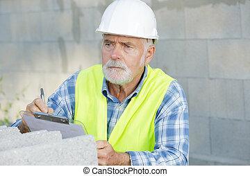 建造地點, 領班, 剪貼板, 建設, 建造者