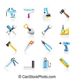 建造工具, 建造工作