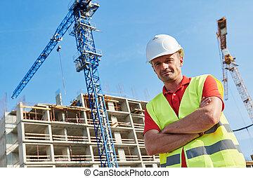 建造建筑物, 工人, 區域