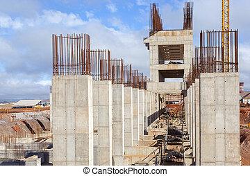 建造建筑物, 站點