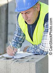 建造者, 寫, 建設, 工程師, 注釋, 站點