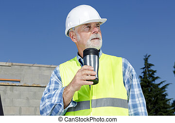 建造者, 建築工地, 工程師