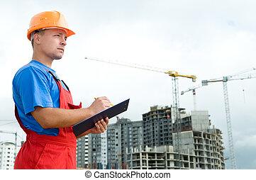 建造者, 建設, 檢查員, 區域