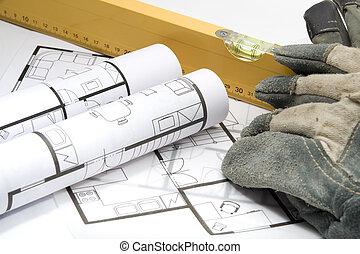 建造者, 設備