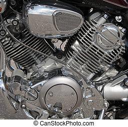 引擎, 人物面部影像逼真, 摩托車