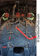 引擎, 老, 房間, 非常, 訓練, 蒸汽