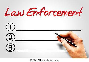 強制執行, 法律