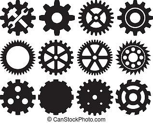 彙整, 齒輪, 機器