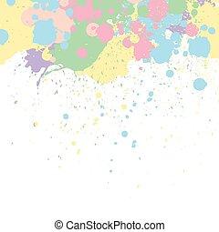 彩色蜡筆, 矢量, 背景, 畫