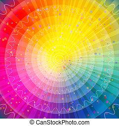 彩虹, 摘要, 背景