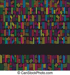 彩虹, 摘要, 顏色, 黑色的背景, 旗幟