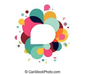 彩虹, 概念, 鮮艷, 海報, 飛濺, 摘要, 顏色, 背景, 矢量, 設計
