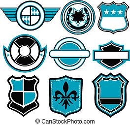 徽章, 符號, 設計