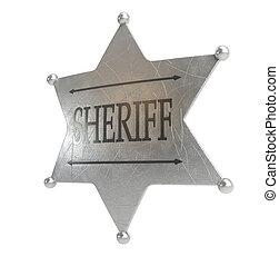 徽章, sheriff's