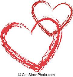心, 矢量, 愛