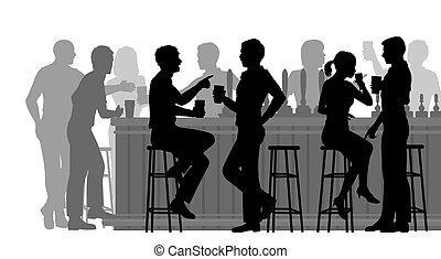 忙, 酒吧