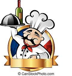 快樂, 廚師, 插圖