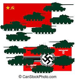 愛國, 偉大, 戰爭, 坦克