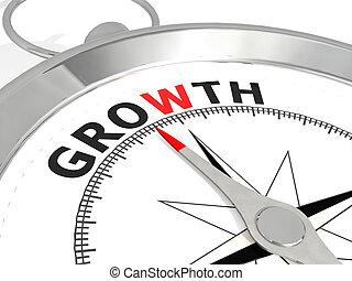 成長, 詞, 金屬, 指南針