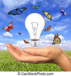 我們, 能量, 在之內, 伸手可及的距離, 可更新
