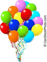 或者, 黨, 生日慶祝, 气球