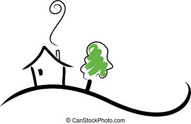 房子, 小山