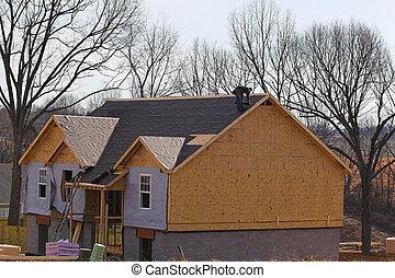 房子, 屋面工, 新