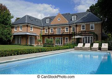 房子, 池